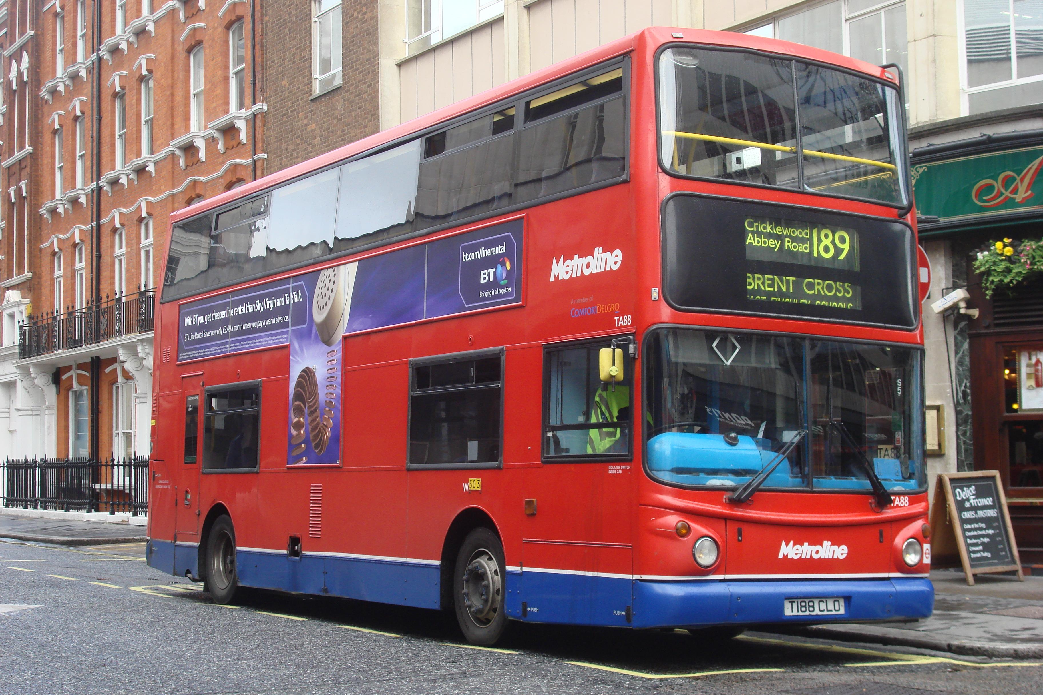Filelondon Bus Route 189 John Prince Street Oxford Circus 018 Jpg