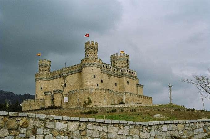 Reconquista Manzanares_el_Real-Castillo