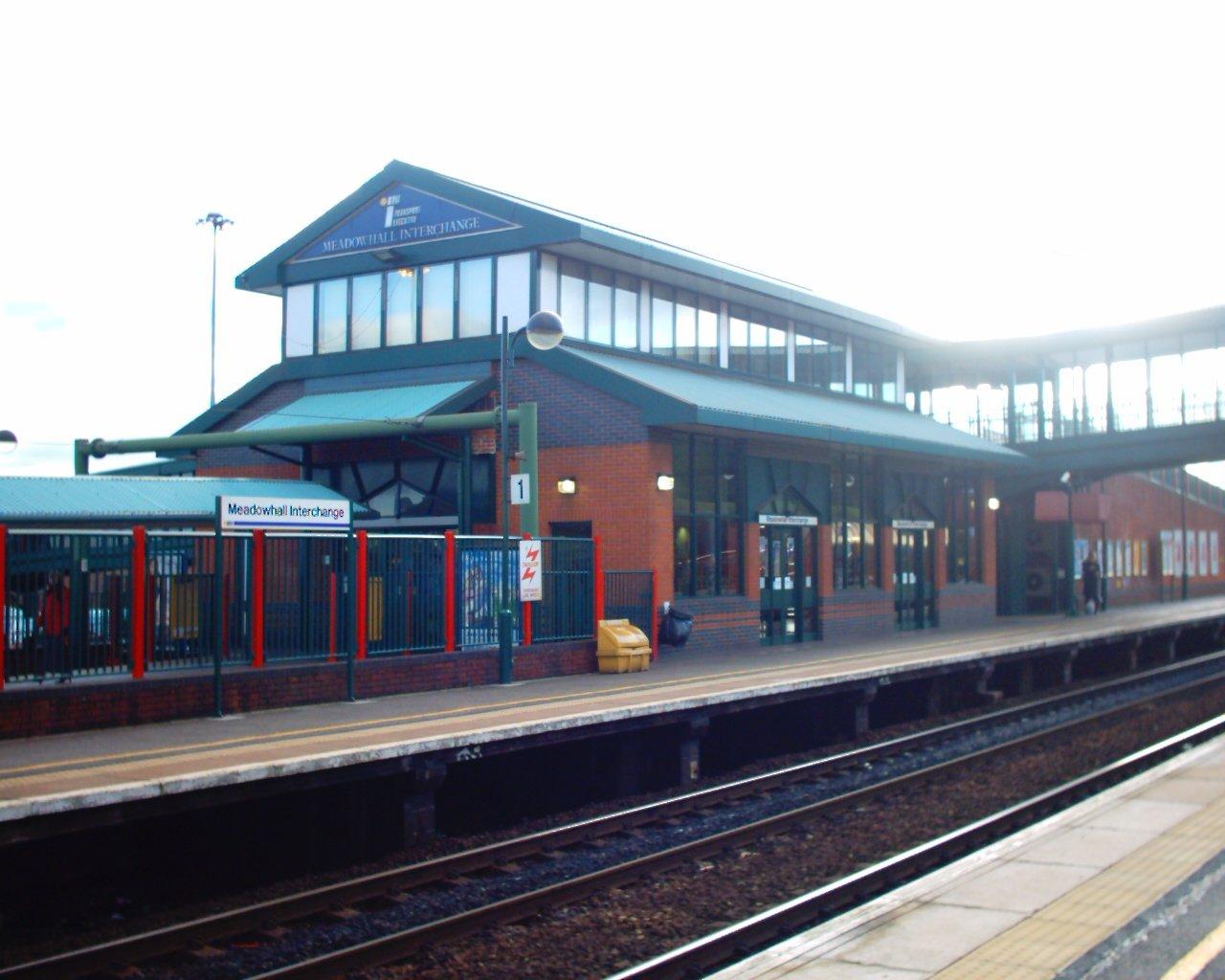 Meadowhall Train Station Car Park