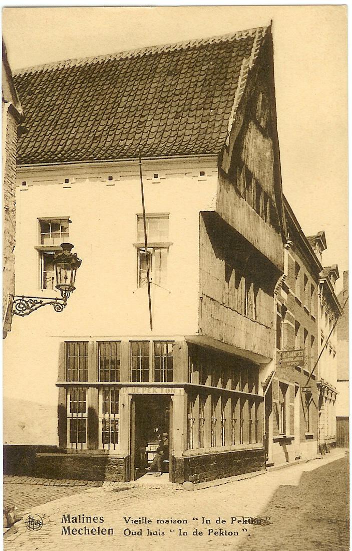 File mechelen oud huis 39 in de pekton 39 jpg wikimedia commons - Oud huis ...