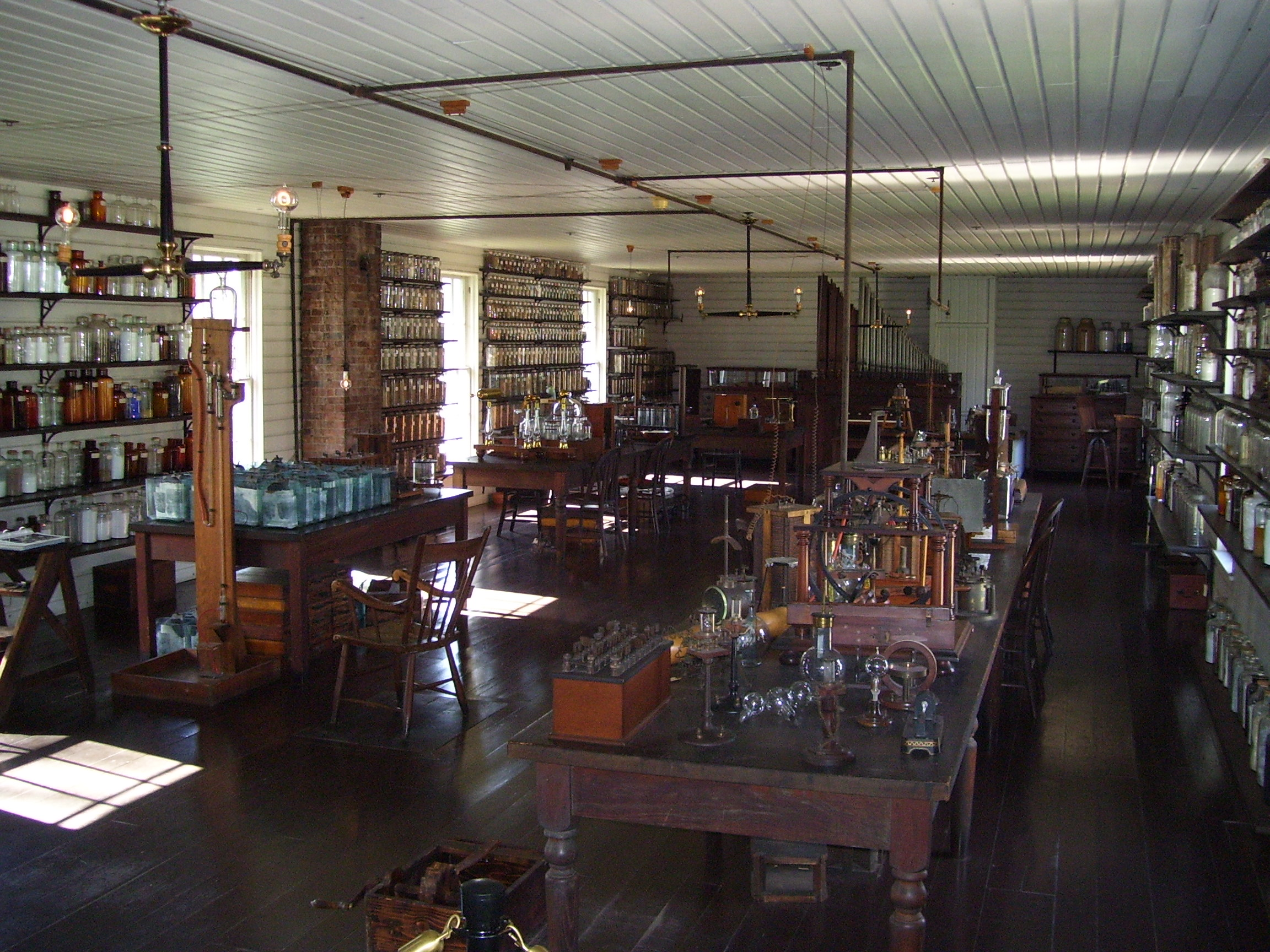 File Menlo Park Laboratory Of Thomas Edison Site Of The