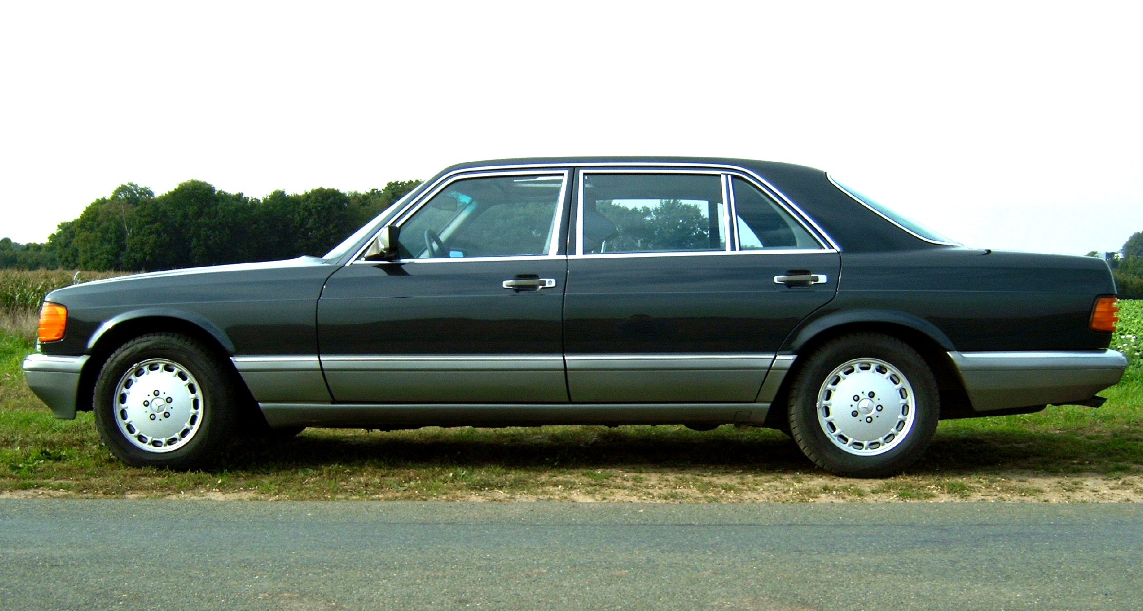 File mercedes w126 500sel seite for Mercedes benz w126