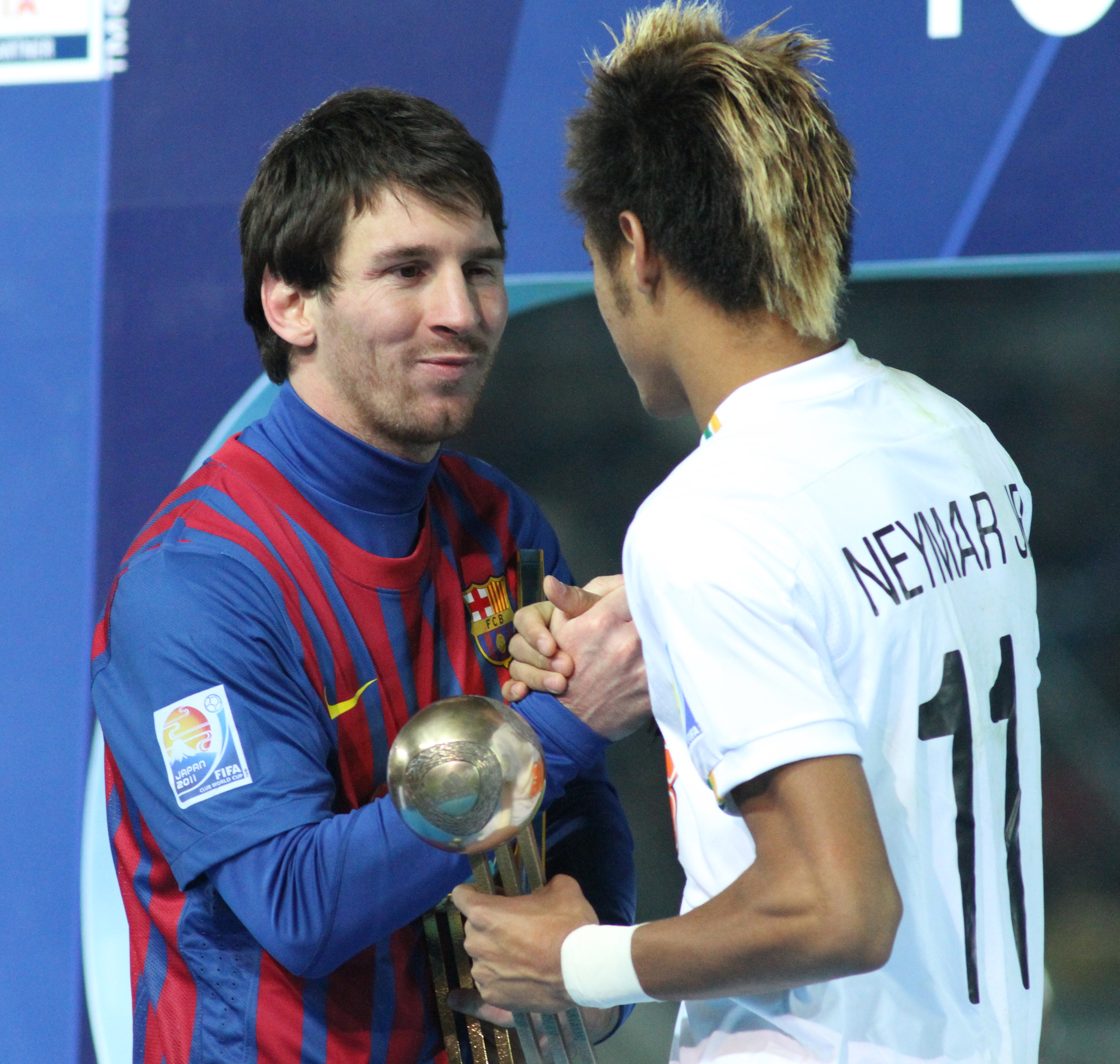 2a94c17636e File Messi with Neymar Junior the Future of Brazil.jpg - Wikimedia ...