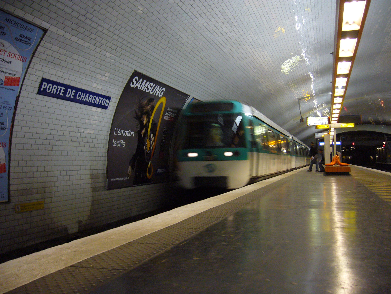 File metro paris ligne 8 porte de charenton 5 jpg - Porte de charenton metro ...