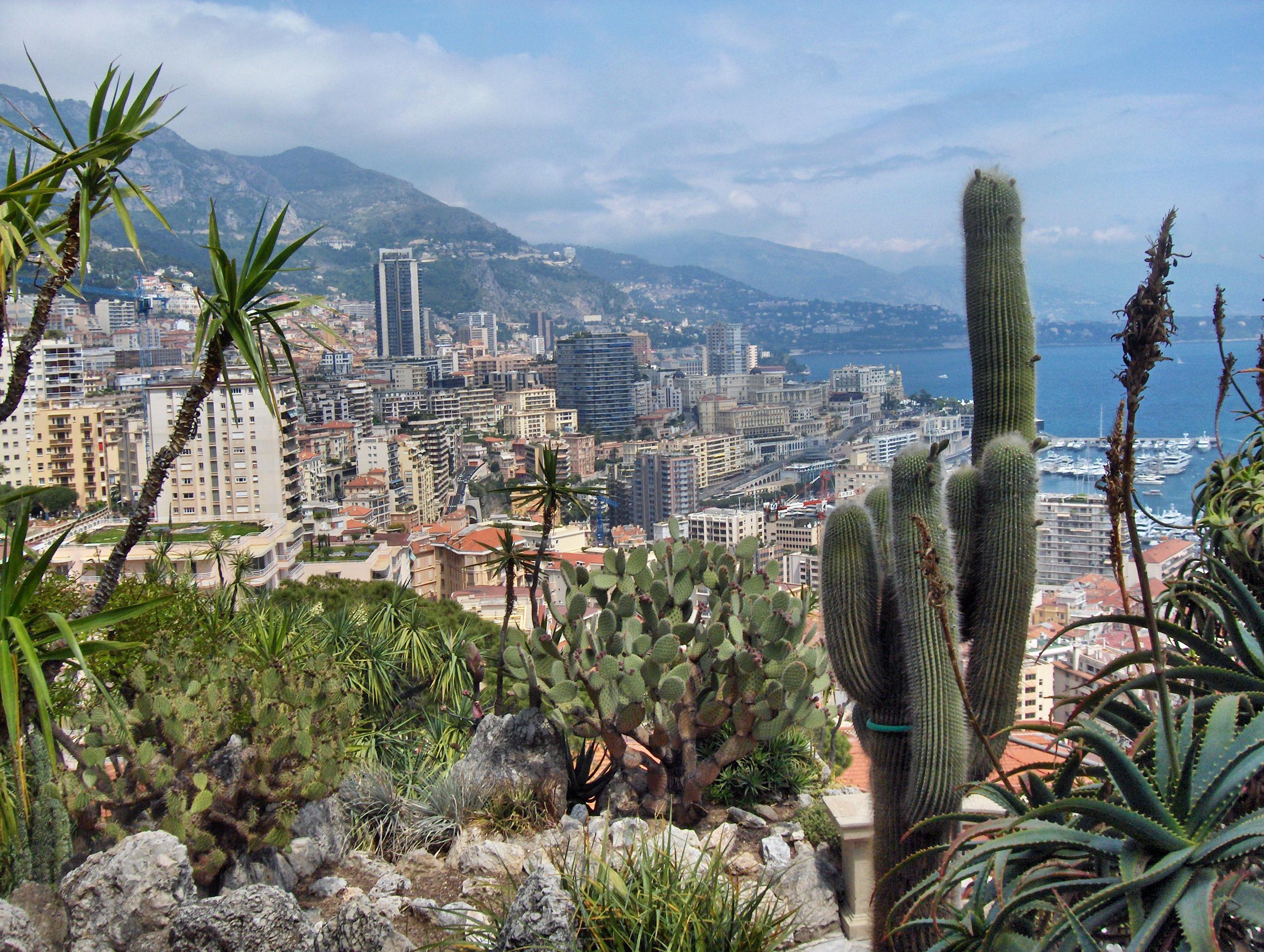 Jardin Botanique De Monaco