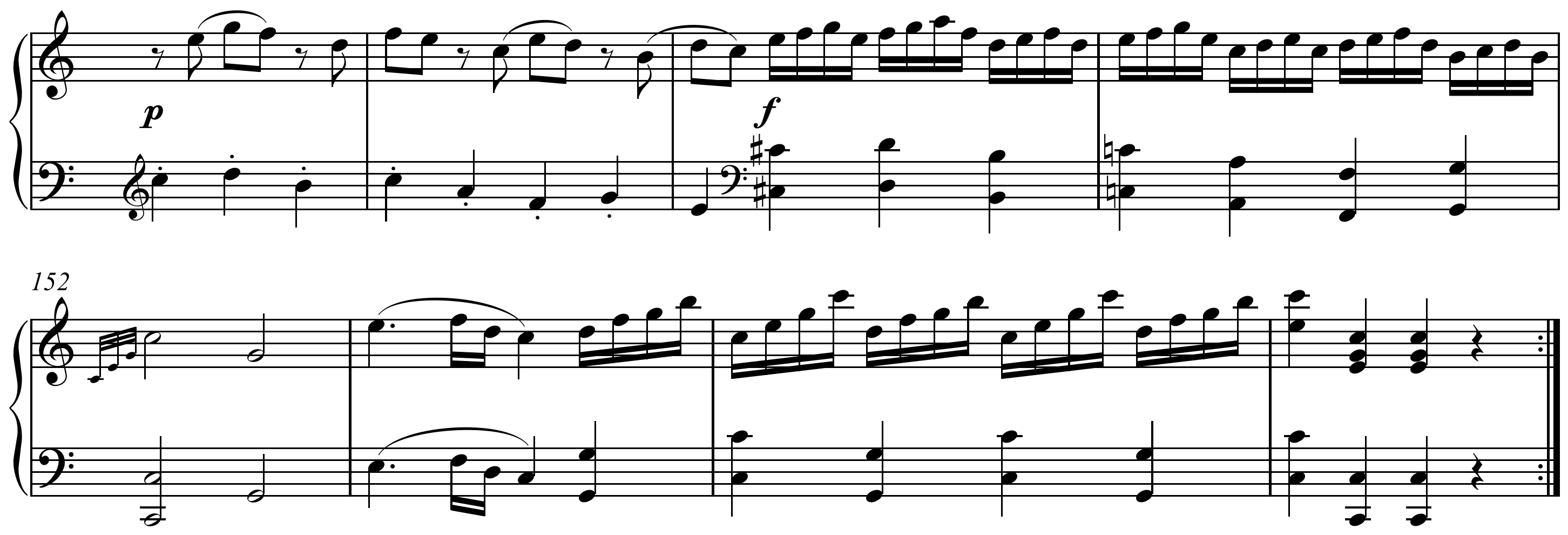mozart piano sonata in c kv 309