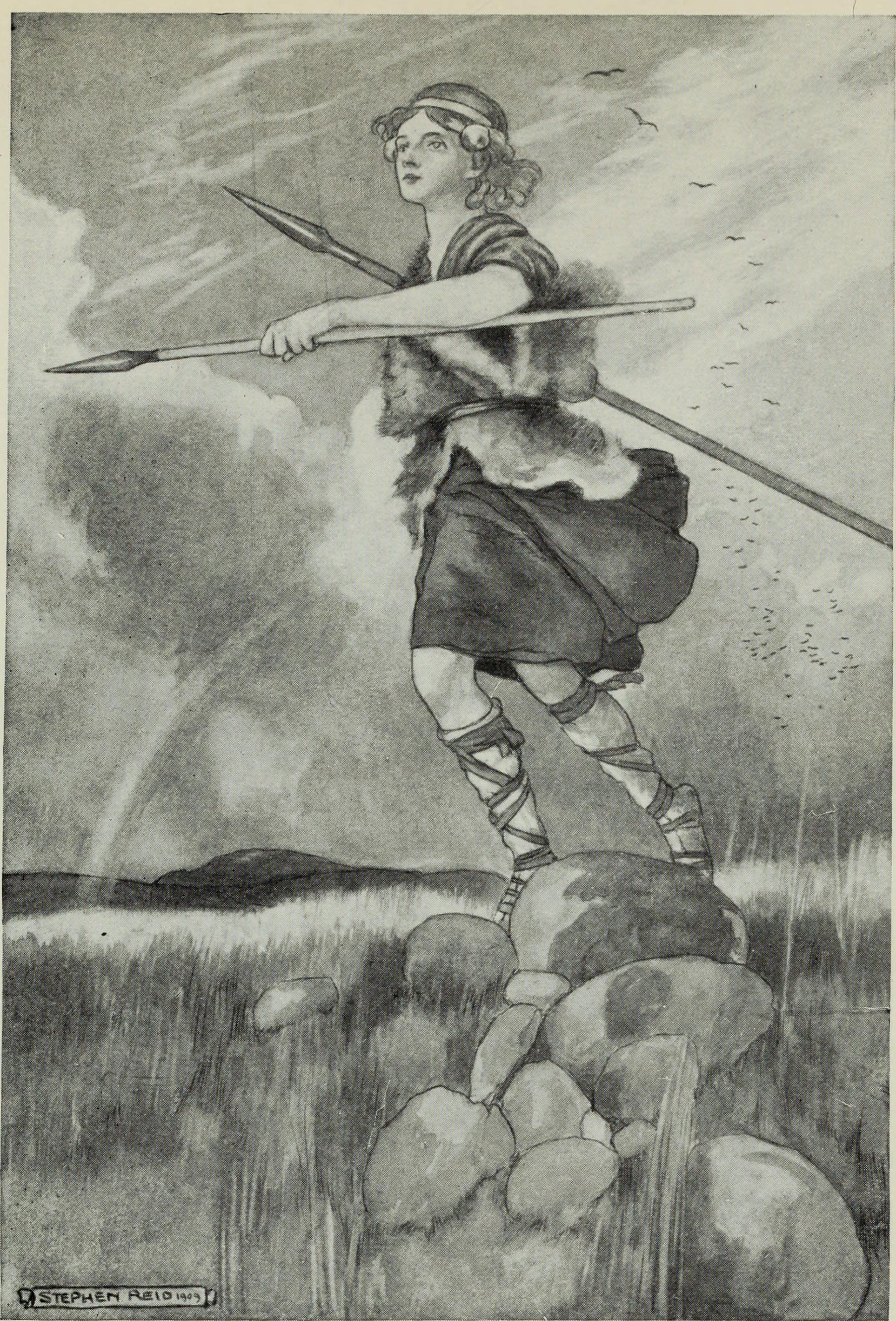 Myths and legends; the Celtic race (1910)