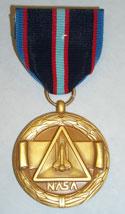 NASA Space Flight Medal cover