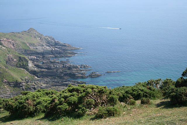 Newton and Noss, above East Hollicombes - geograph.org.uk - 460195