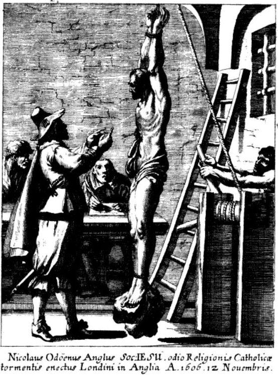 Nicolas Owen, Jésuite torturé à la Tour de Londres