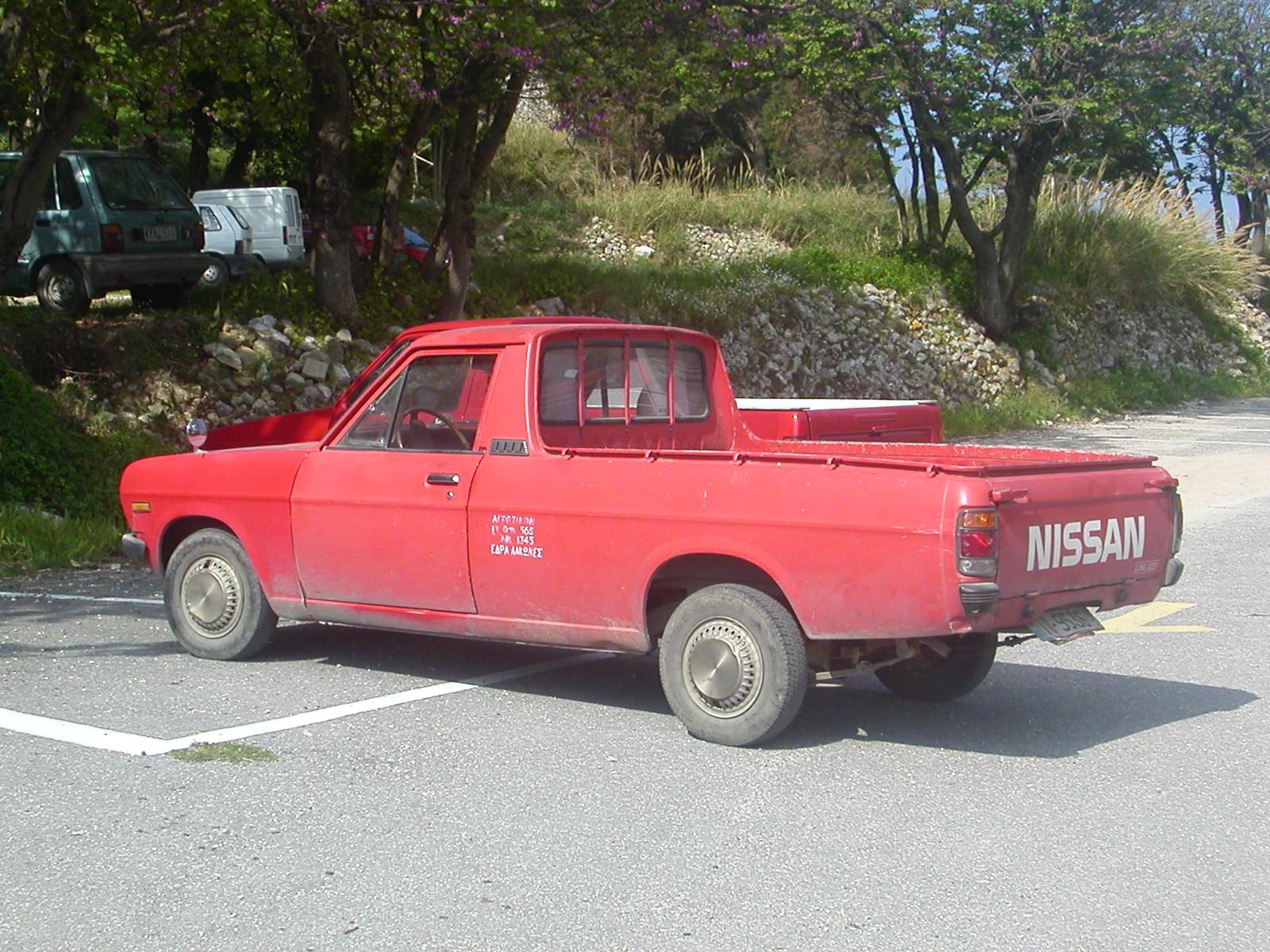 File Nissan Pickup Truck In Palaiokastritsa Jpg