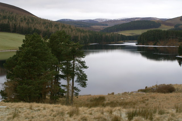 Northern end of Backwater Reservoir - geograph.org.uk - 1105159.jpg