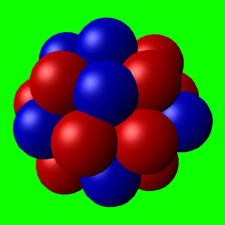 Le modèle de l'atome Noyau_atome
