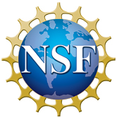 Logo of the National Science Foundation (NSF)....