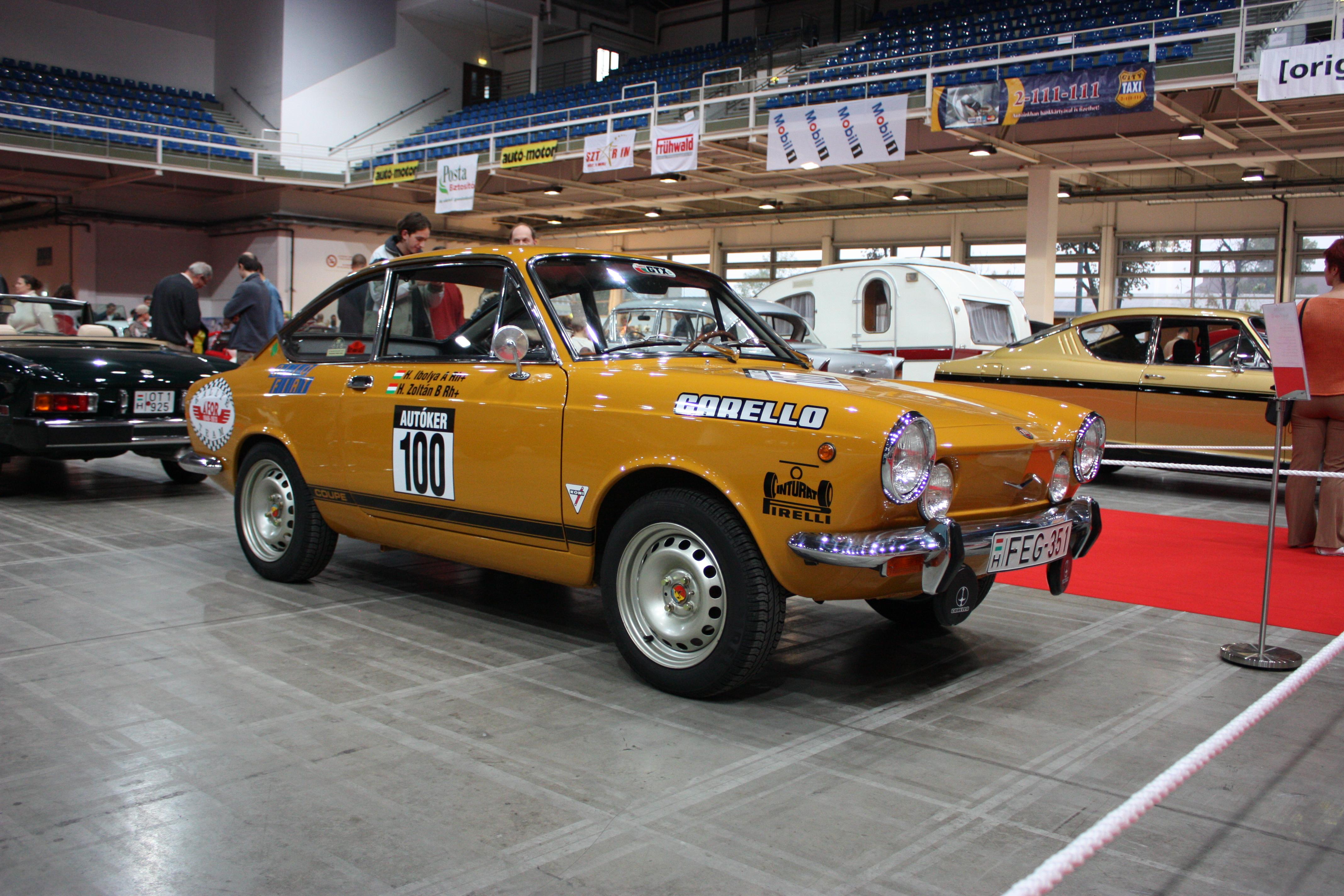 File Oldtimer Show 2008 048 Fiat 850 Sport Front Jpg