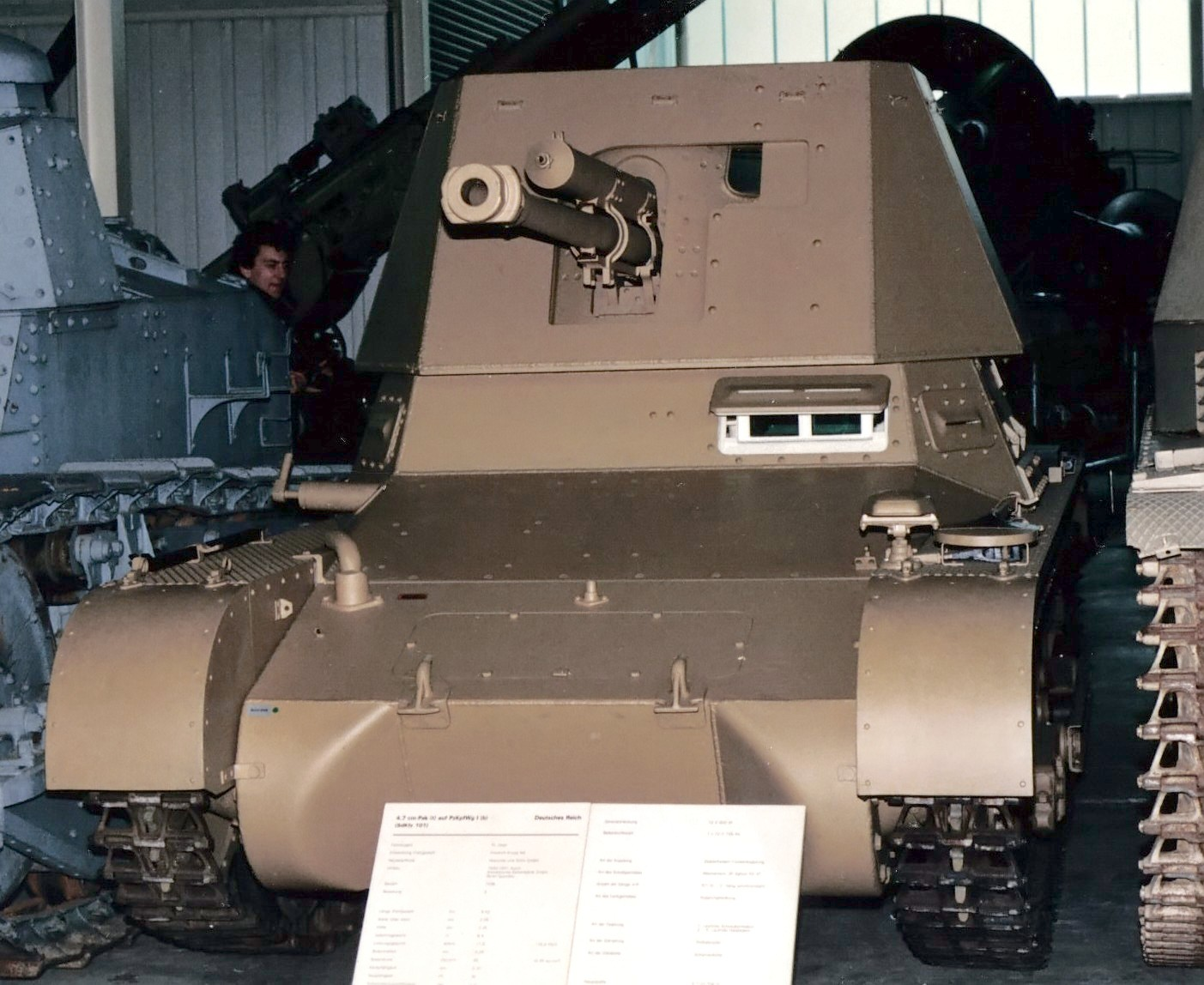 Front view of a Panzerjäger I