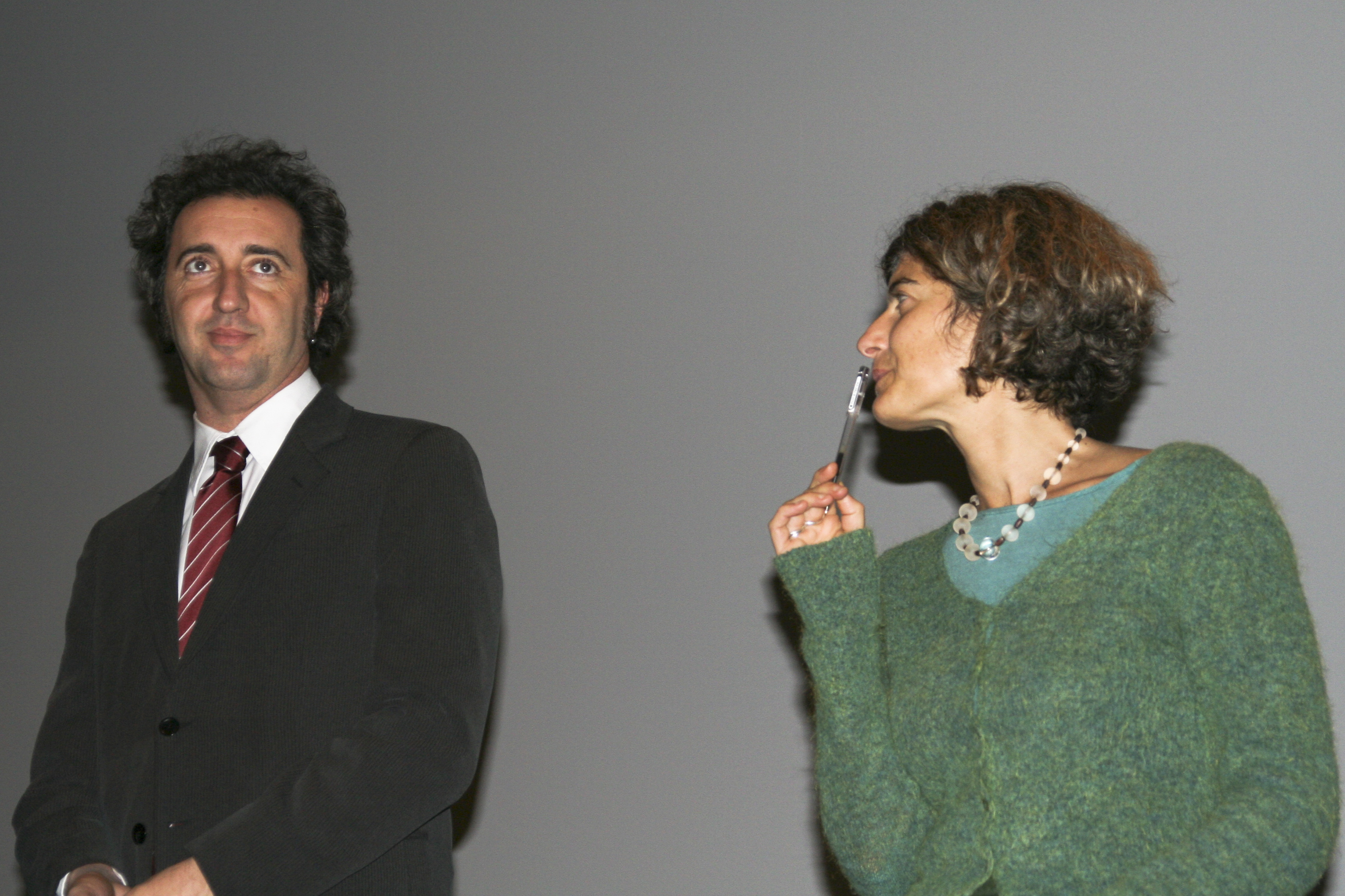 paolo sorrentino wife