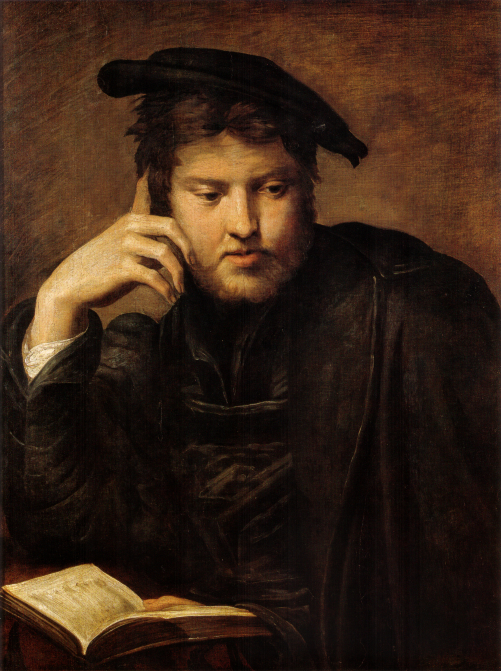 File:Parmigianino, uomo che sospede la lettura, vienna.jpg ...