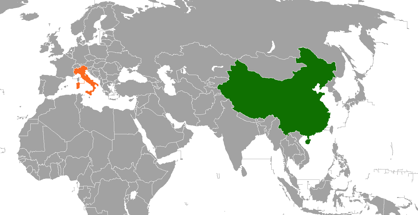 Image of: China Italy Relations Wikipedia