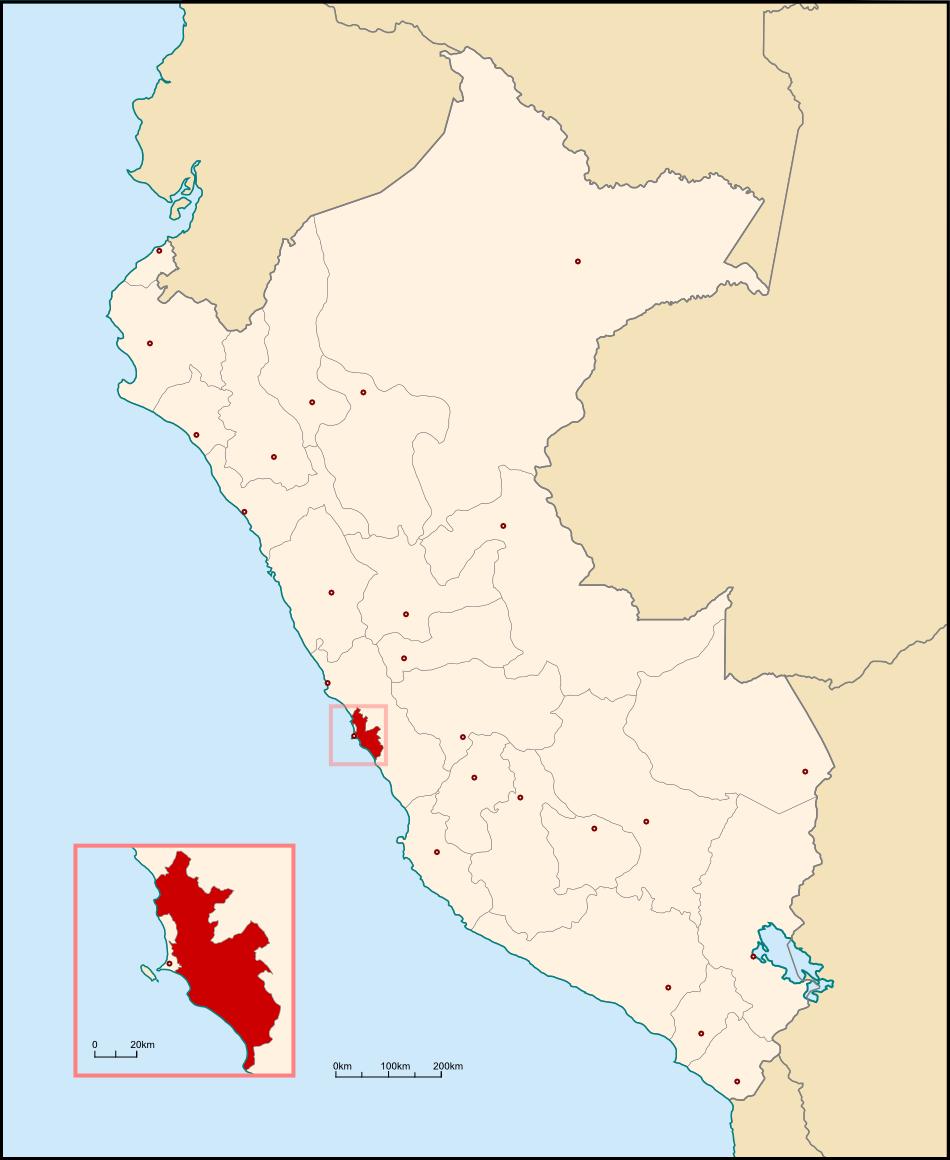 Provincia de lima wikipedia la enciclopedia libre for De donde se saca el marmol