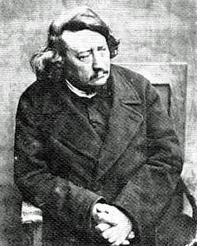 Pierre Leroux in exile, 1856.