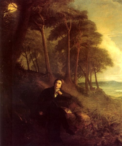 Portrait of Keats, listening to a nightingale on Hampstead Heath.jpg