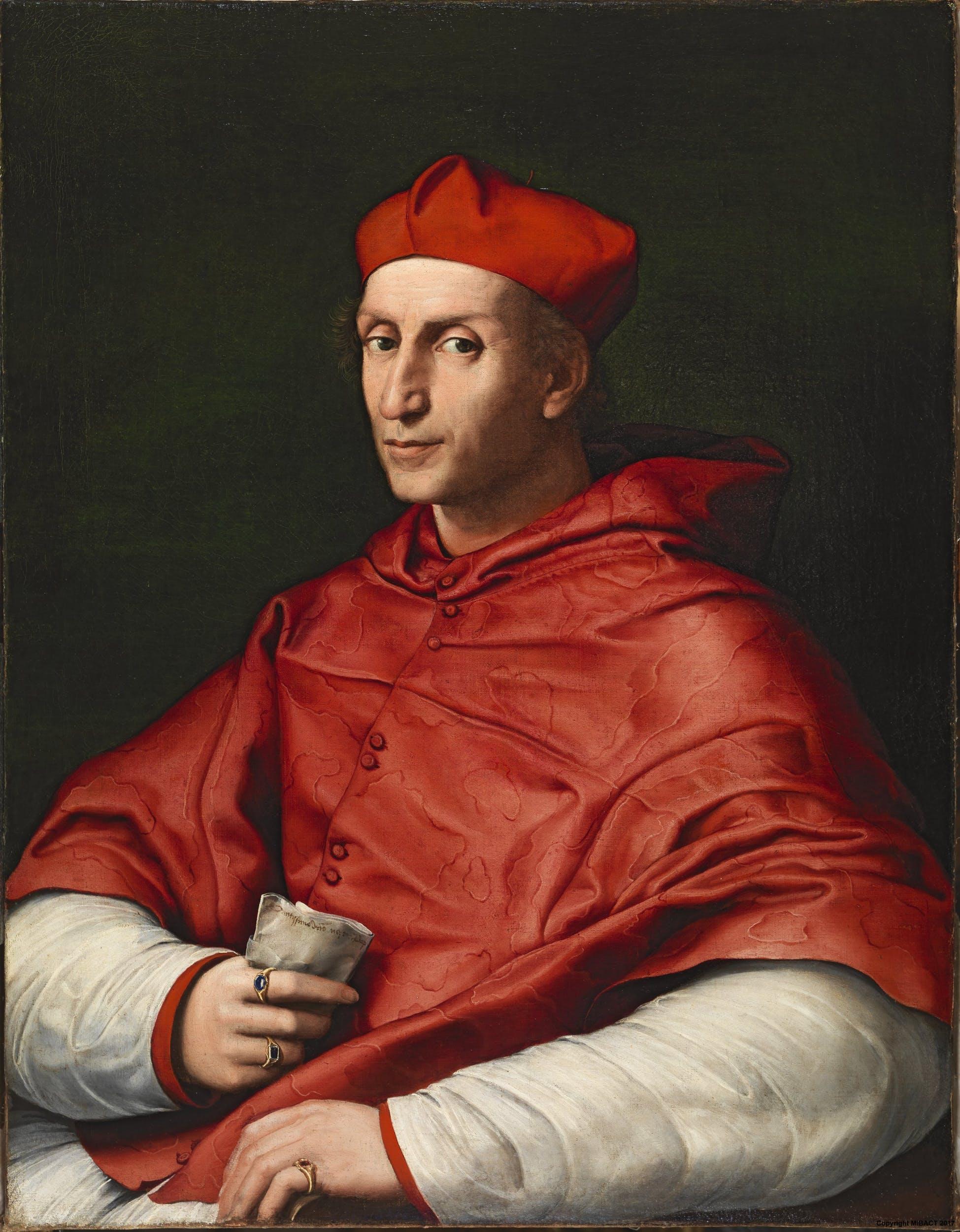 Portrait of Cardinal Bibbiena