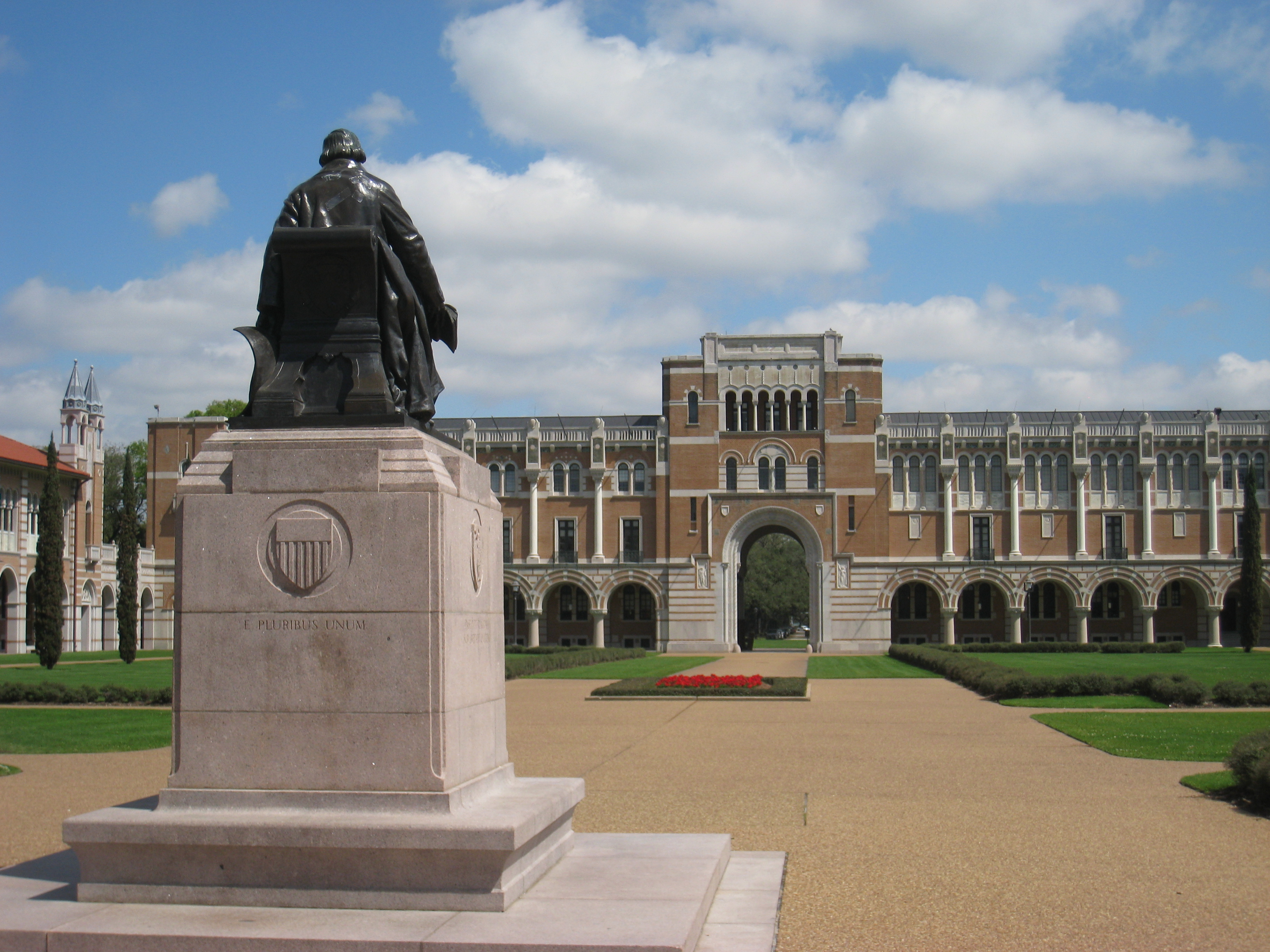Exterior Shot of Rice University Building