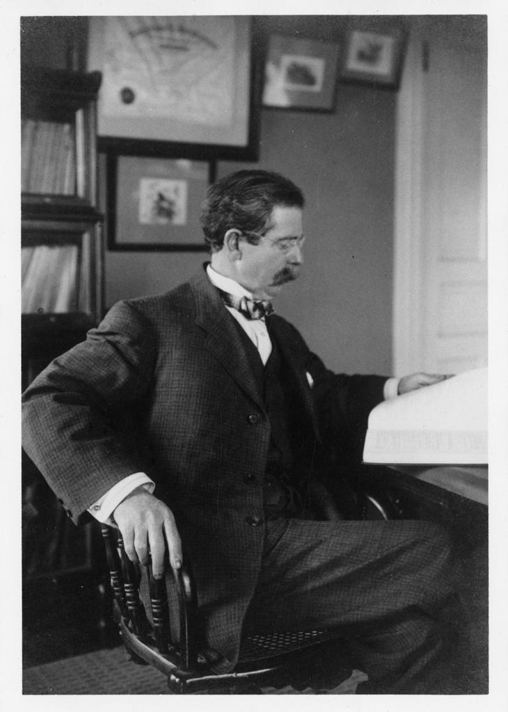 Image of Robert Ridgeway from Wikidata