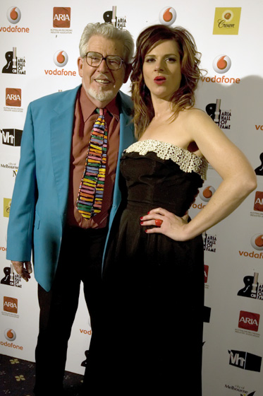 Rolf Harris and Julia Zemiro, ARIA Hall of Fam...