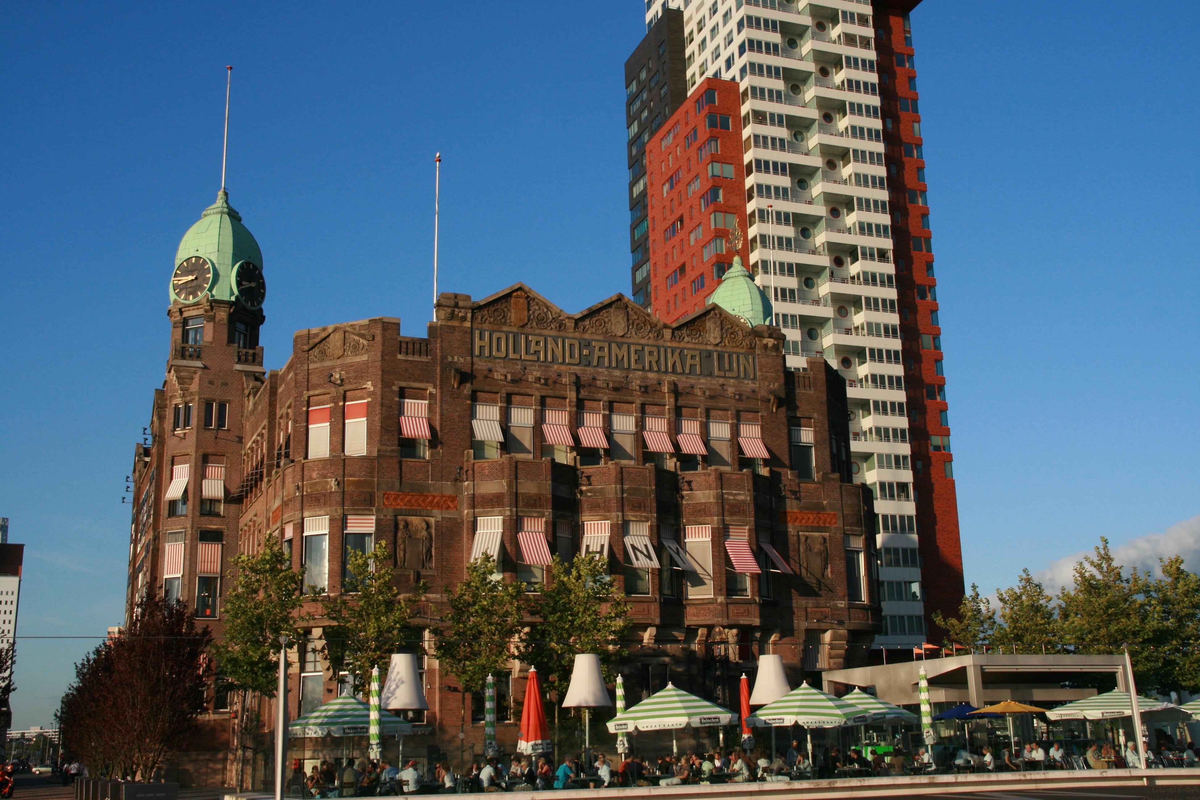 Beschrijving rotterdam hotel new york hal