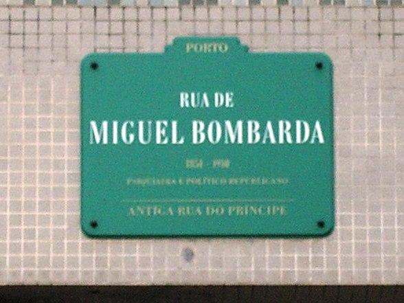 Rua_Miguel_Bombarda_placa_(Porto).JPG