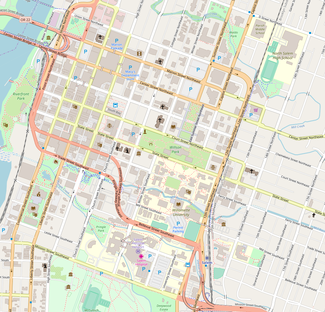 File:Salem Oregon - Downtown - OpenStreetMap.png - Wikimedia ...
