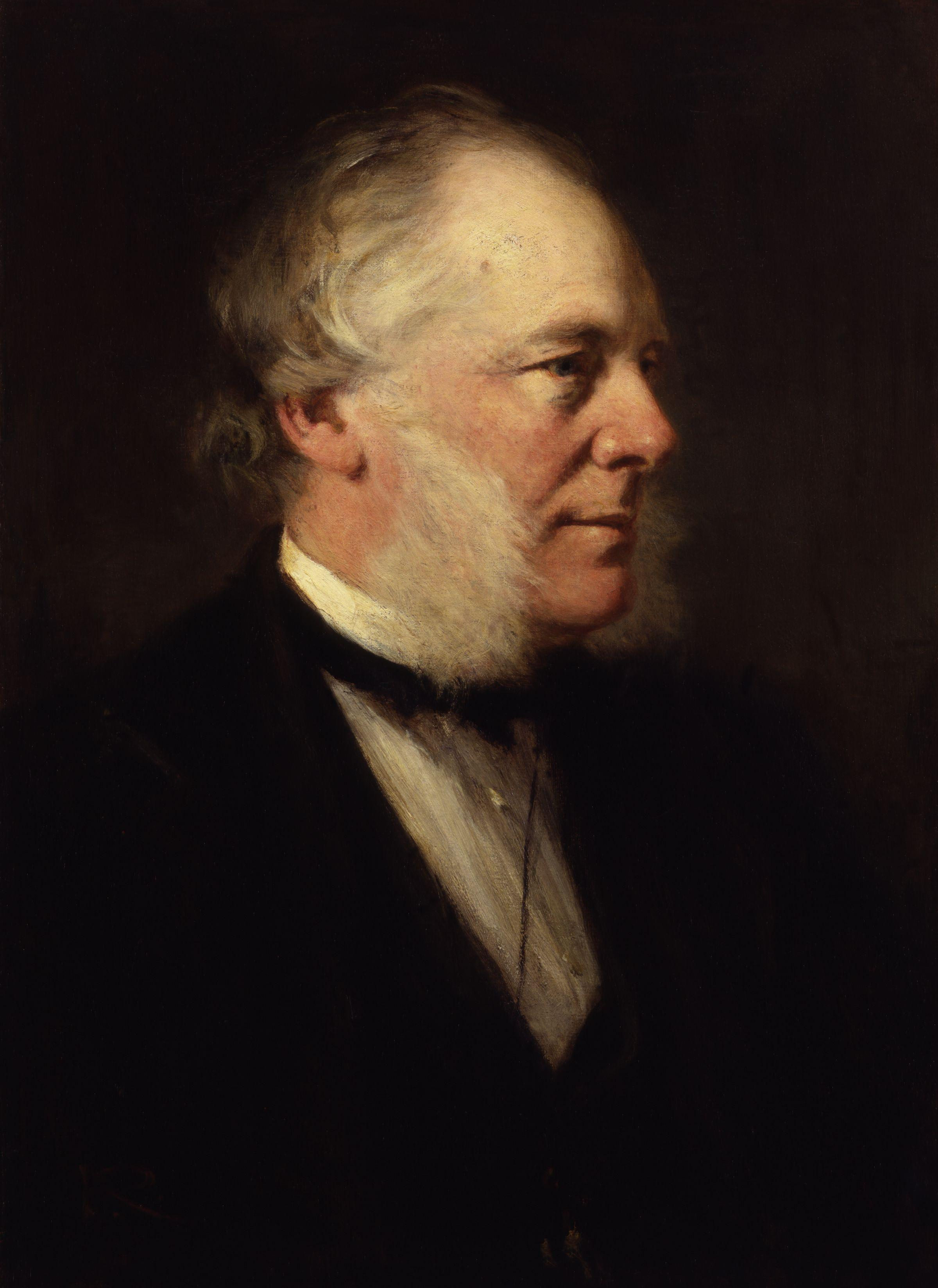 Portrait of Samuel Smiles