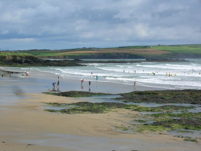 Sand, sea and surf - geograph.org.uk - 558220