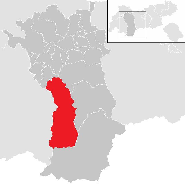 Pitztal Karte.St Leonhard Im Pitztal Wikipedia