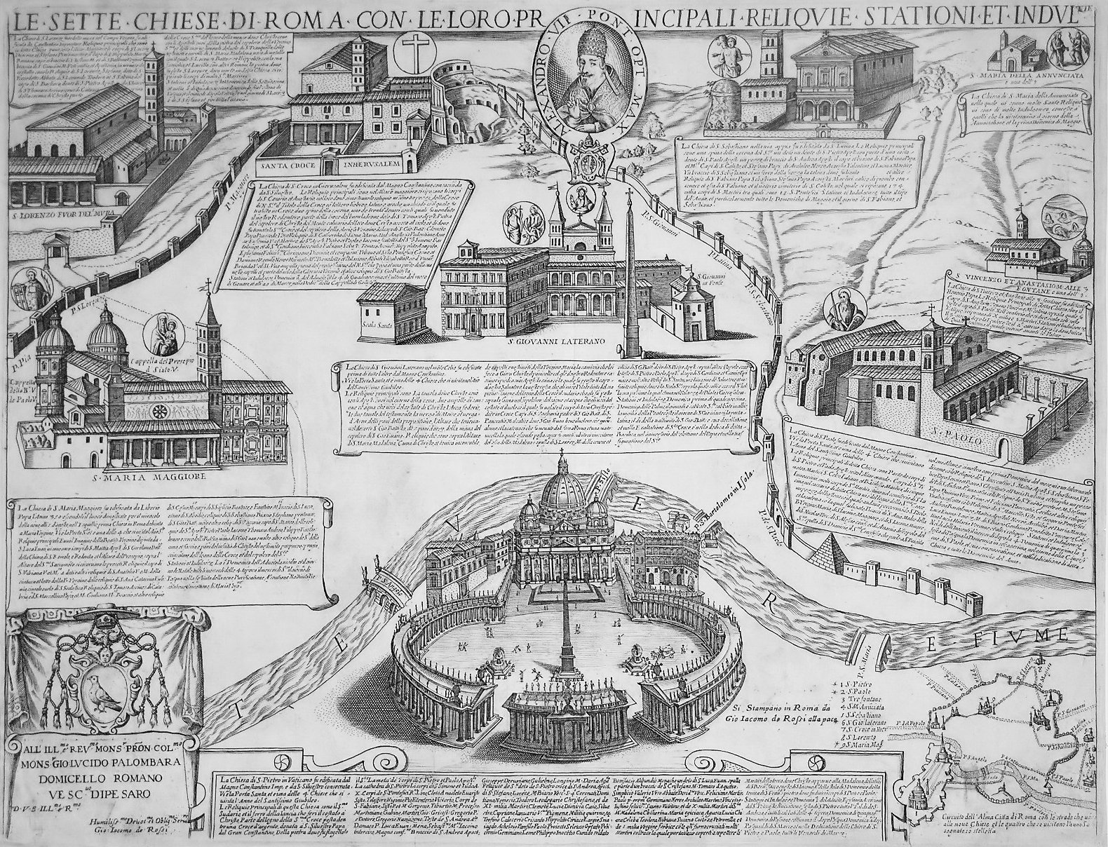 File:Seven Churches of Rome - Giacomo Lauro - 1599.jpg