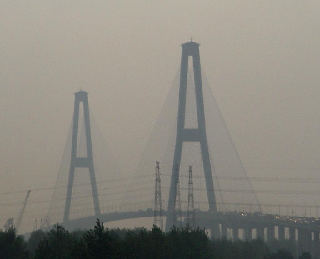 What Is Smog >> File:Shanghai, bridge in the smog-edit.jpg - Wikimedia Commons