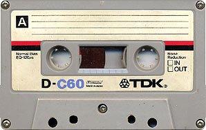 Vieille cassette audio. Cliquer pour voir l'image en plus grand, license CC BY-SA 3.0
