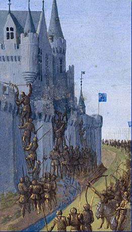 Česky: Obléhání Avignonu 1226