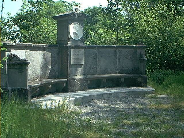 Sitzbank zu Ehren Kaiser Wilhelms, Fürstlicher Park, 72505 Krauchenwies