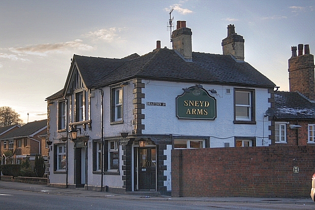 Creative Commons image of The Sneyd Arms @ Higherland in Newcastle under Lyme