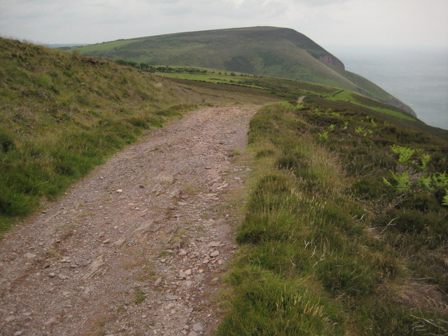 South West Coast Path on Holdstone Down - geograph.org.uk - 1597064