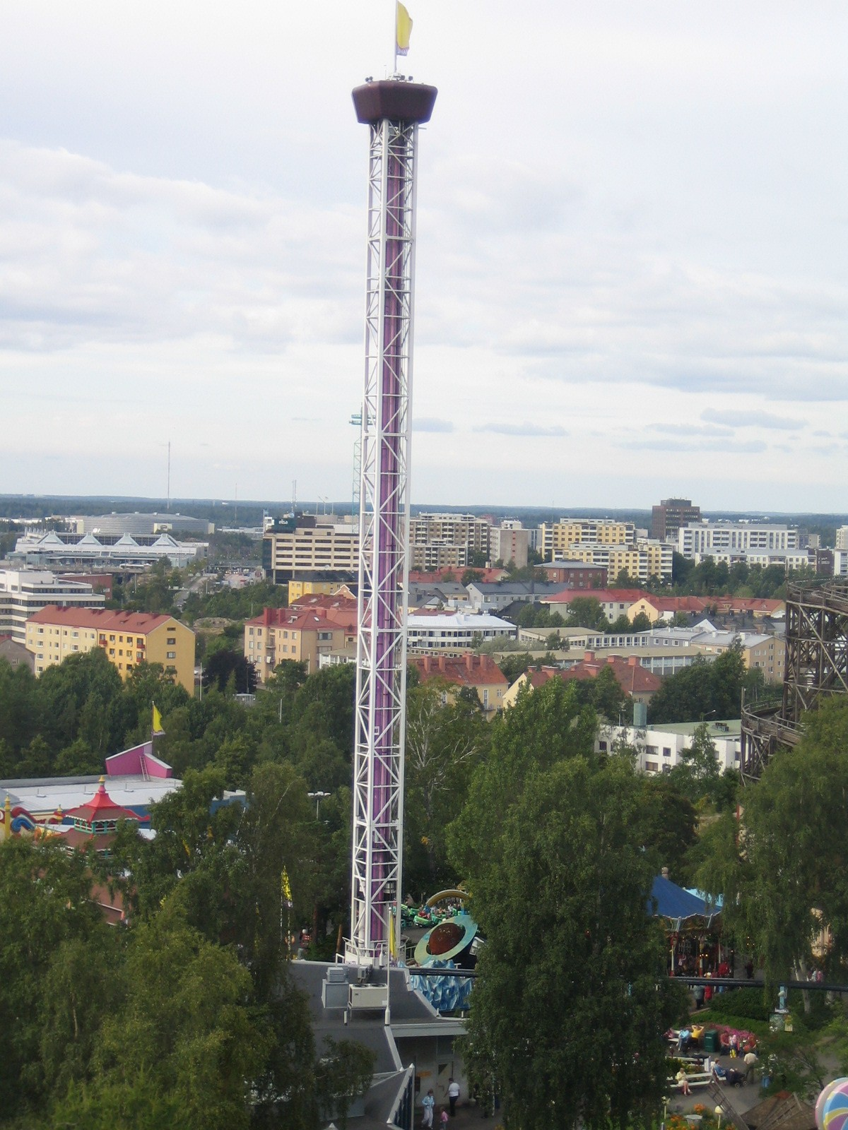 Space Shot Linnanmäki