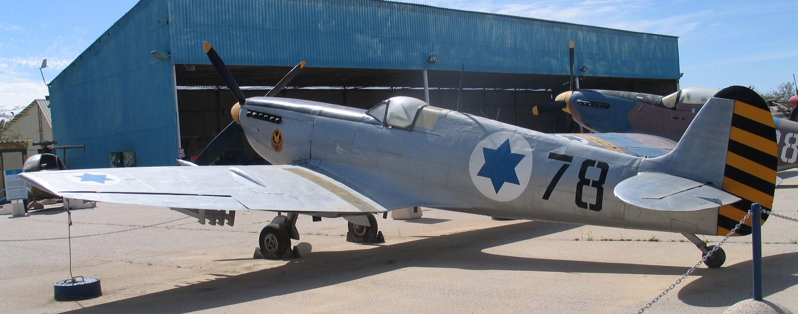 Stg44 Syrien - Page 2 Spitfire-MkIX-hatzerim-1-2