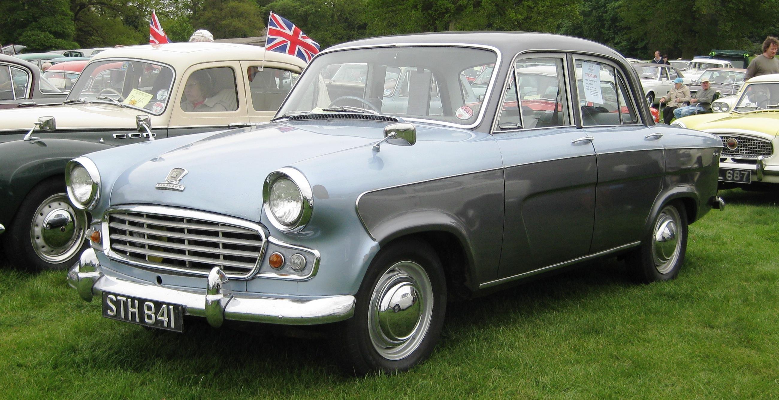 File:Standard Vanguard Vignale 1959 2080cc.JPG - Wikimedia Commons