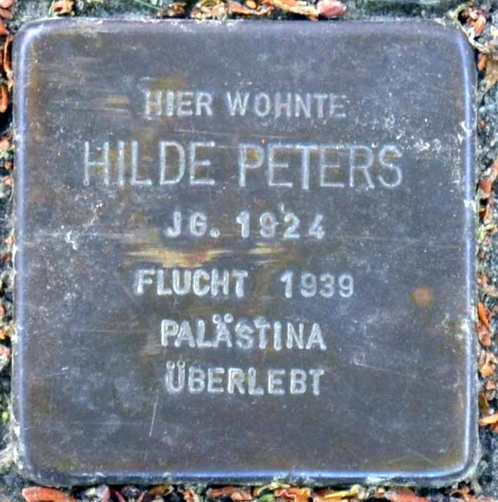 Stolperstein für Hilde Peters (cropped).jpg