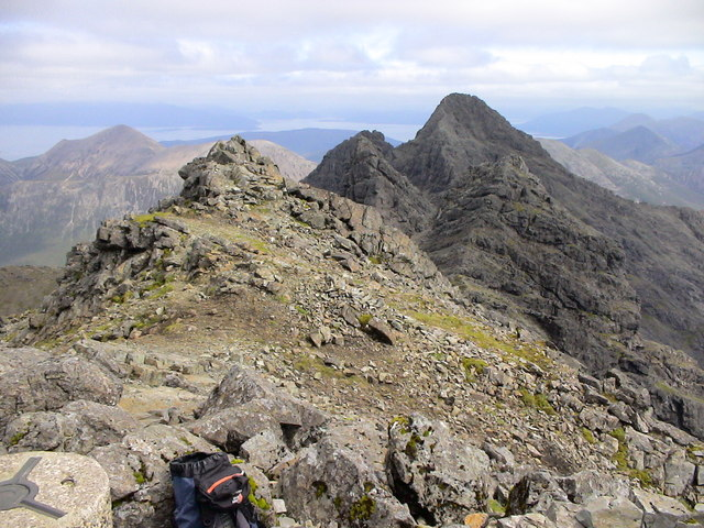 Summit of Bruach na Frithe - geograph.org.uk - 138174