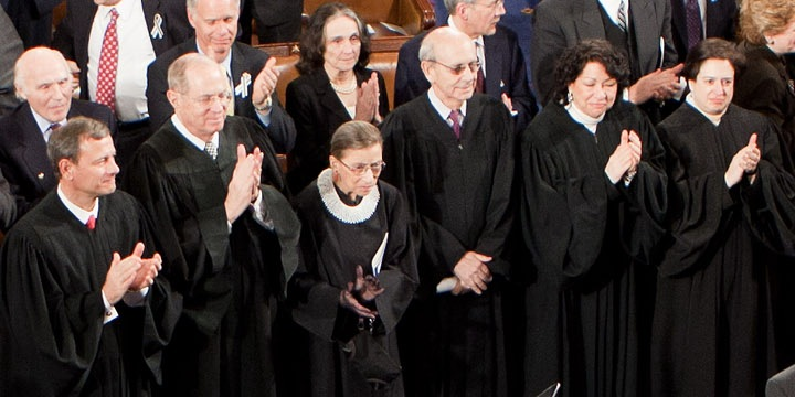 File:Supreme Court State of the Union 2011.jpg