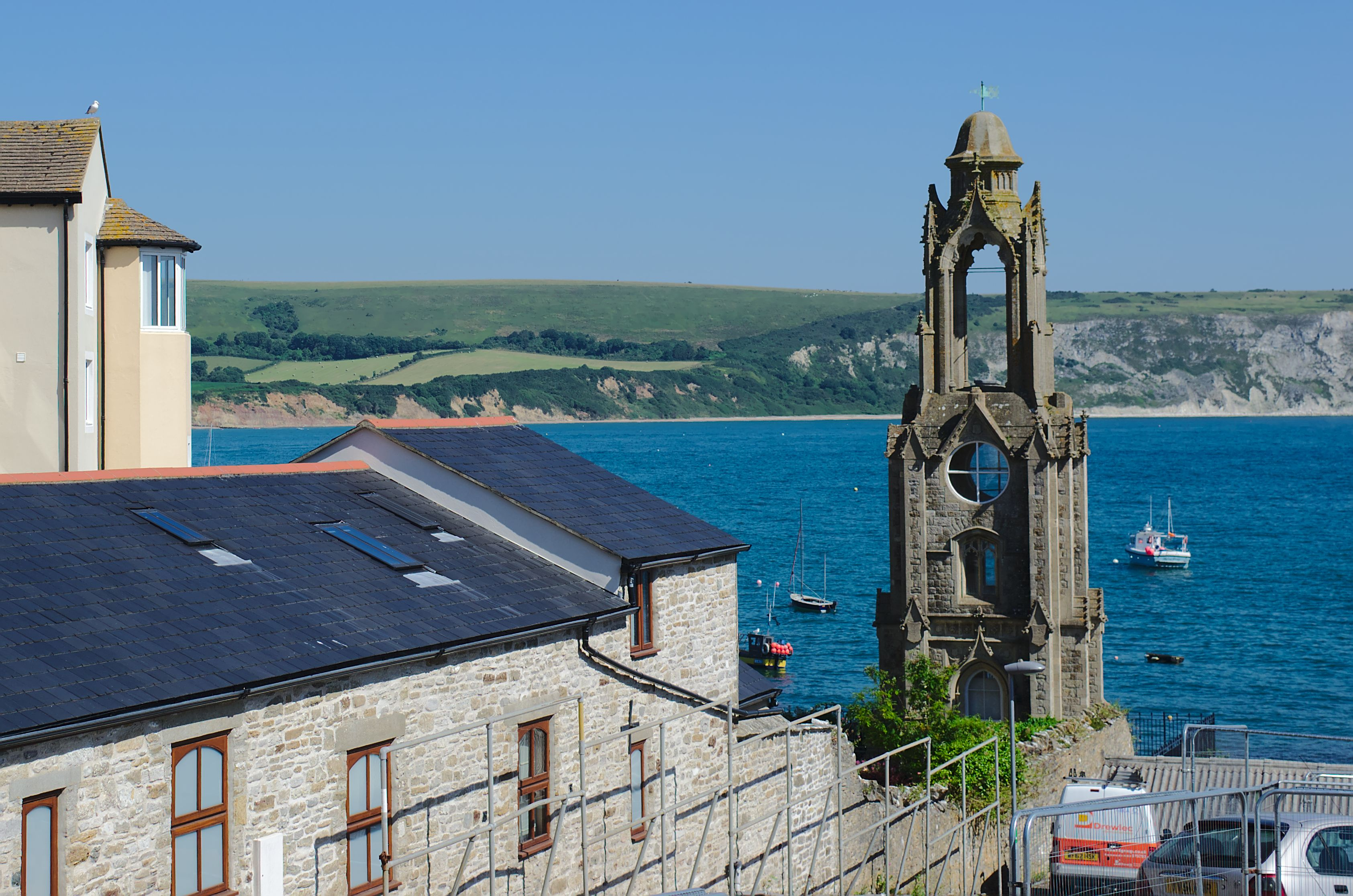 Image result for swanage clock tower